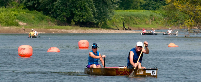Paddling a Legacy: Racing the route of General Clinton's campaign