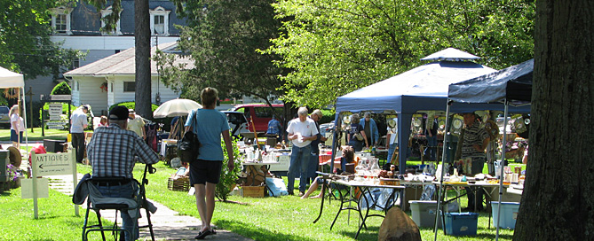 Different Finds Every Time: The Market in the Village Green